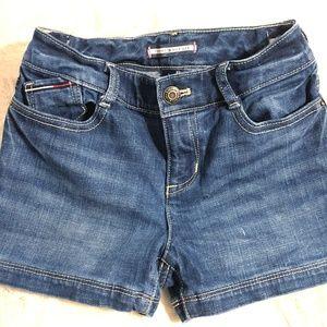 EUC! Girls Tommy Hilfiger Jean Shorts Sz. 6